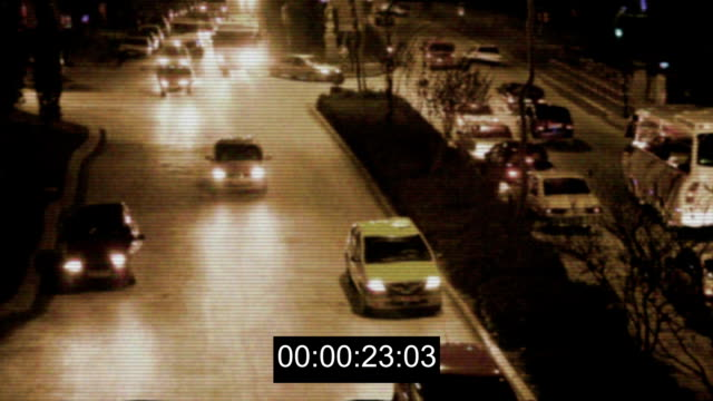 Security Camera on Traffic video