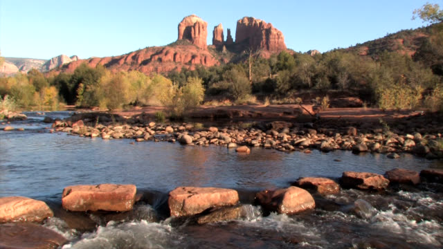 Sedona Arizona Red Rocks Zoom Out to Locked video