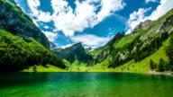 Seealpsee Mountain Lake video