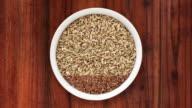 Seeds bowls video