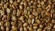 Seeds choicest Arabica vraschayutsya. Nicaragua grade video