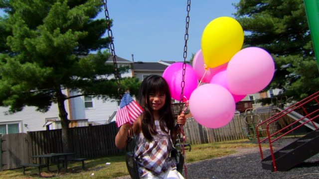 Selena's Swing, Balloons, and Flags 3 video