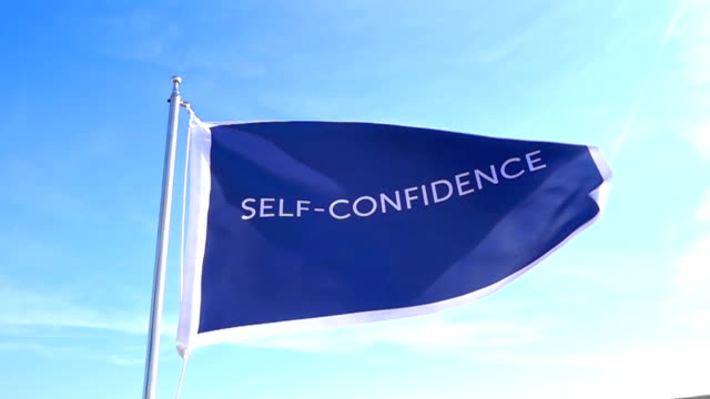 Self - Confidence Flag video