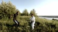 Self defense techniques from attacker video
