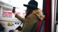 Selfie from Train video