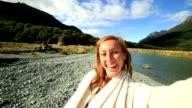 Selfie in New Zealand video