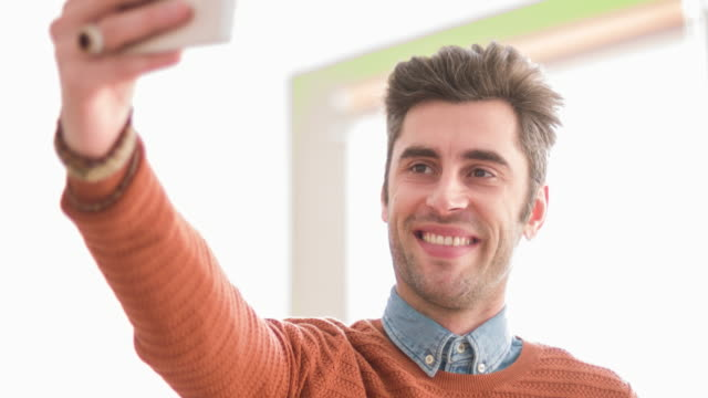Selfie in the office video