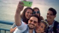 Selfie moment, 4k. video