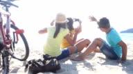 Selfie on the beach video