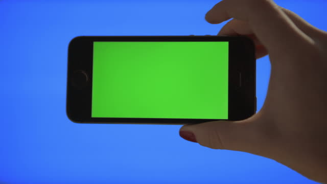 Selfie Self portrait Green screen and Blue screen keying video