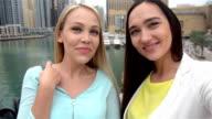 SELFIE: Selfie video from Dubai Marina video