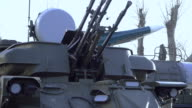 Self-propelled anti-aircraft weapon video