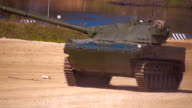 2S25 self-propelled anti-tank gun 'Sprut-SD' moving on the range video