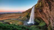 Seljalandsfoss Waterfall in Iceland video
