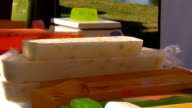 Selling colorful home made soap video