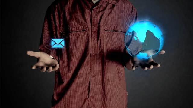 Sending email HD1080 video