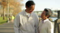 Senior Asian Couple video