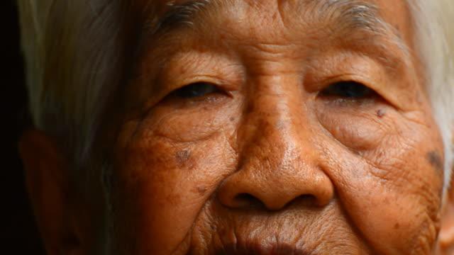 Senior Asian woman video