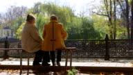 Senior Citizens In The Park video