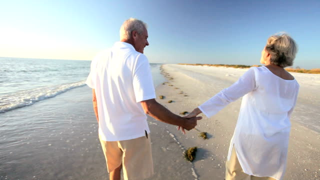 Senior Couple Confident of the Future video