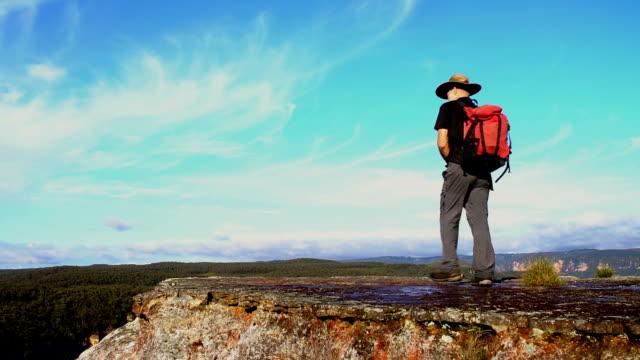 Senior Hiker video