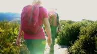 Senior Hikers video
