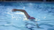 Senior Man Swimming video
