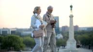 Senior tourist video