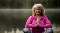 Senior Woman living an active lifestyle video