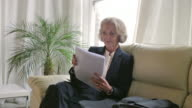 Senior woman, meeting        BS PR video