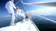 Seniors Enjoying Life at Sea video
