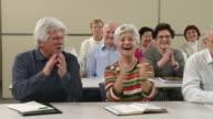 HD: Seniors Having Fun After Singing video
