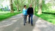 Seniors in the park video