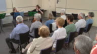 HD: Seniors Listening To Classical Concert video