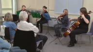 HD DOLLY: Seniors Listening To Classical Concert video