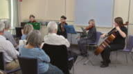 HD DOLLY: Seniors Listening To Young Musicians video