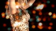Sensual Blond Girl in Nightclub HD video