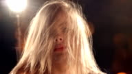 Sensual Blond Girl in Nightclub video