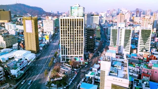 Seoul City Timelapse video