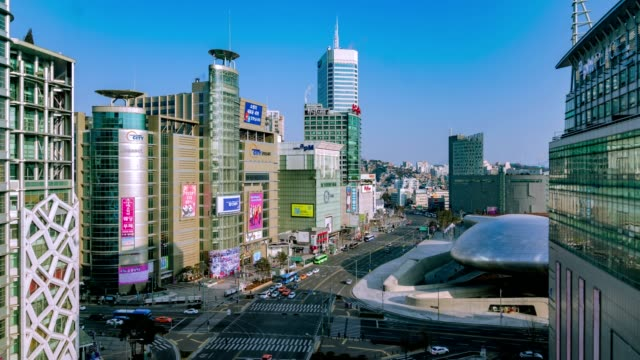 Seoul of South Korea. Beautiful city timelapse. video