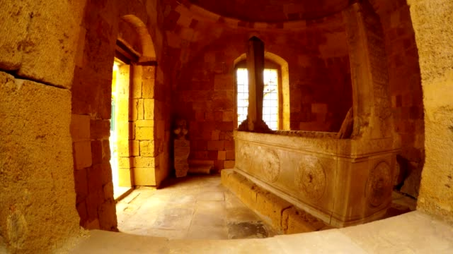 Sepulchre of Muslim Saint in Old Town Nicosia video
