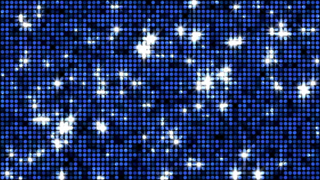 Sequins or reflectors background blue video