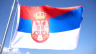 Serbian Flag video