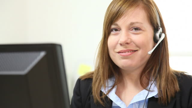 Series of customer service portraits video