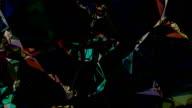 series transcendental fields : from body, dark (TRANSITION) video
