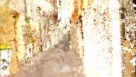 series transcendental fields : from italian alleyway (LOOP) video