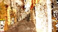 series transcendental fields : from italian alleyway,colorful (LOOP) video