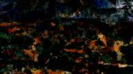 series transcendental fields : from provence, dark (LOOP) video