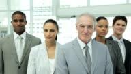 Serious Business Team Portrait video