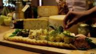 HD MACRO: Served cheese video